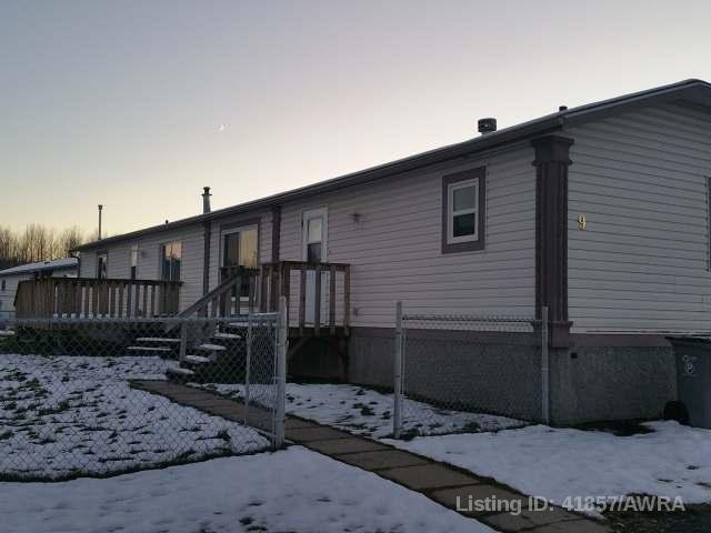 Real Estate Listing MLS 41857