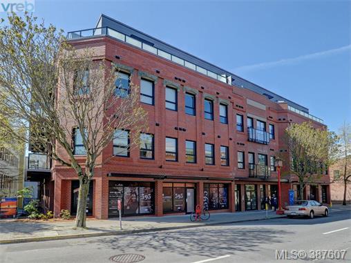 405 - 595 Pandora Ave, Victoria, MLS® # 387607